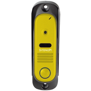 Вызывная панель Интерком IM-10 (yellow)