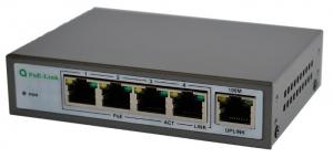 PoE-Link PL-541FA 60Вт сетевой коммутатор с POE