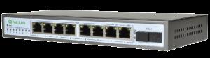 Сетевой коммутатор с POE PoE-Link PL-981GS-FA 96Вт