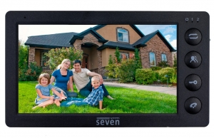 Видеодомофон SEVEN DP–7574 FHD (black)