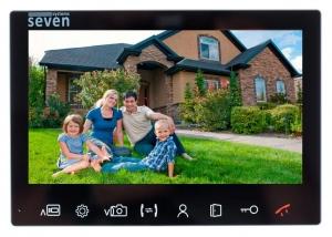Видеодомофон SEVEN DP–7575FHD IPS (black)