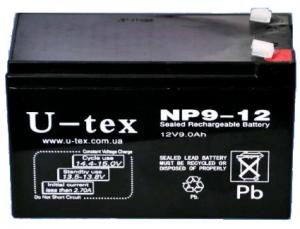Аккумулятор U-tex NP9-12