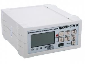 Переносной двухкомпонентный газоанализатор Дозор-С-М-2
