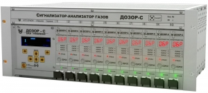 Многоканальная система контроля загазованности ДОЗОР-С