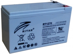 Акумуляторна батарея RITAR RT1270