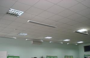 Установка обогревателей Теплоv в Приватбанке