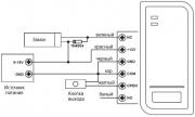 FK S2-EM FoxKey - схема подключений