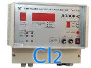 Газоанализатор хлора (Cl2) Дозор-С стационарный