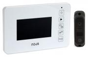 Комплект видеодомофон NOUS NV4U + вызывная панель