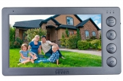 Видеодомофон SEVEN DP–7574 FHD (grey)