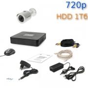 Комплект видеонаблюдения Tecsar 1OUT + HDD 1 Тб
