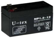 Аккумулятор U-tex NP1.2-12