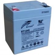 Аккумуляторная батарея RITAR RT1245 (12В, 4.5Ач)