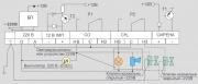 Схема внешних соединений с общей сигнализацией Варта 2-03 (220В)