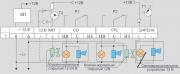 Схема внешних соединений с раздельной сигнализацией Варта 2-03П (12В)