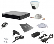 Комплект видеонаблюдения Tecsar AHD 1IN 2MEGA