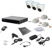 Комплект видеонаблюдения Tecsar AHD 3IN 2MEGA