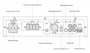 Задняя панель усилителя IPA-40