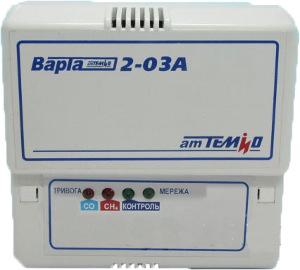 Сигнализатор метана и угарного газа Варта 2-03А бытовой