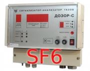 Газоанализатор элегаза, гексафторида серы (SF6) Дозор-С стационарный