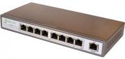 PoE-Link PL-981A 96Вт сетевой коммутатор с POE