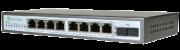 PoE-Link PL-981GS-FA 96Вт сетевой коммутатор PoE с оптическим портом